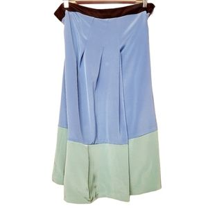 Abaete' | Colorblock Midi Skirt With Side Zip (8)